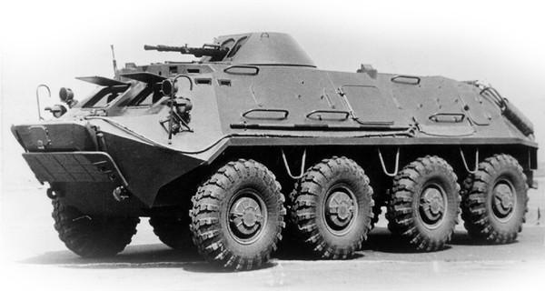 БТР-70 представляет собой
